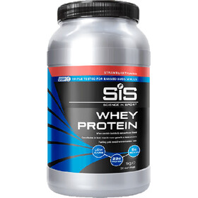 SiS Whey Protein Tub 1kg, Strawberry